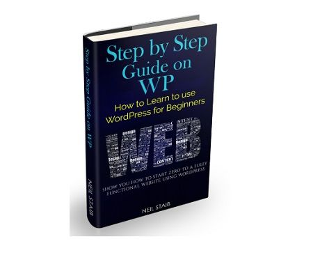 Step by Step Guide on WP 167 pages full of detail instructions on the how to start from zero experience in domain names, hosting to a fully function website using WordPress.