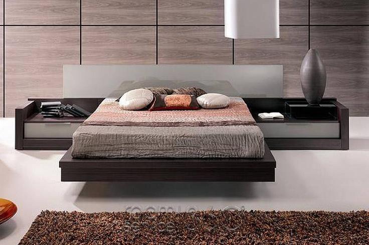 Platform bed with built in storage