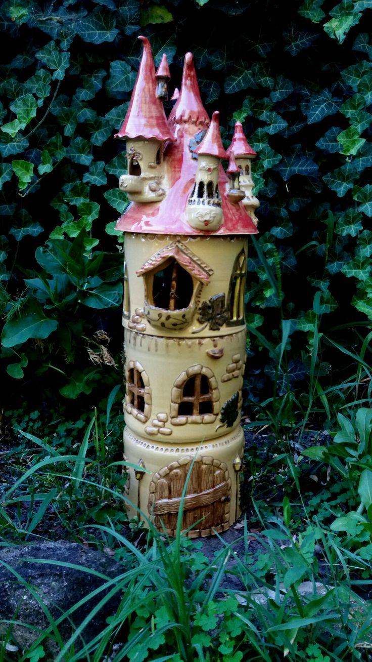 #castle #ceramic #fairytale #myceramics #gardenart #artsandcrafts