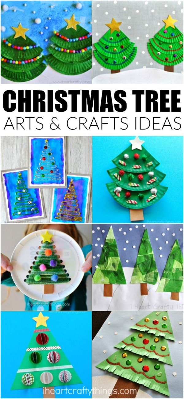 Creative Christmas Tree Arts And Crafts Ideas For Kids Christmas Tree Crafts Fun Christmas Crafts Creative Christmas Trees