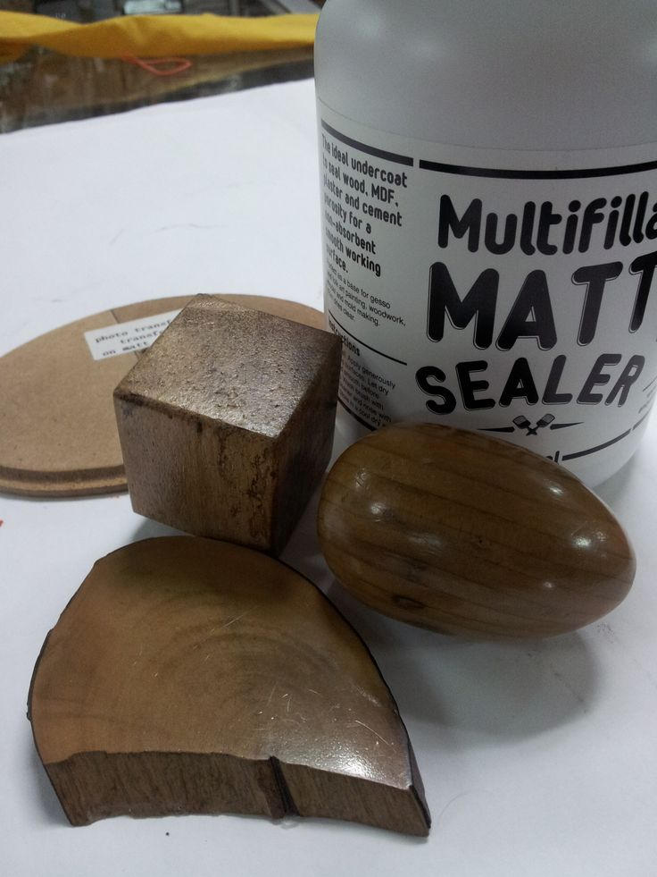 Matt sealing end grain wood and MDF for the super glossy finish. End grain cross cut wood are difficult to paint with rapid absorption. Matt sealer seals end grain for even painting and superb polishing. MDF sealed and sanded has a smooth surface best for decoupage.