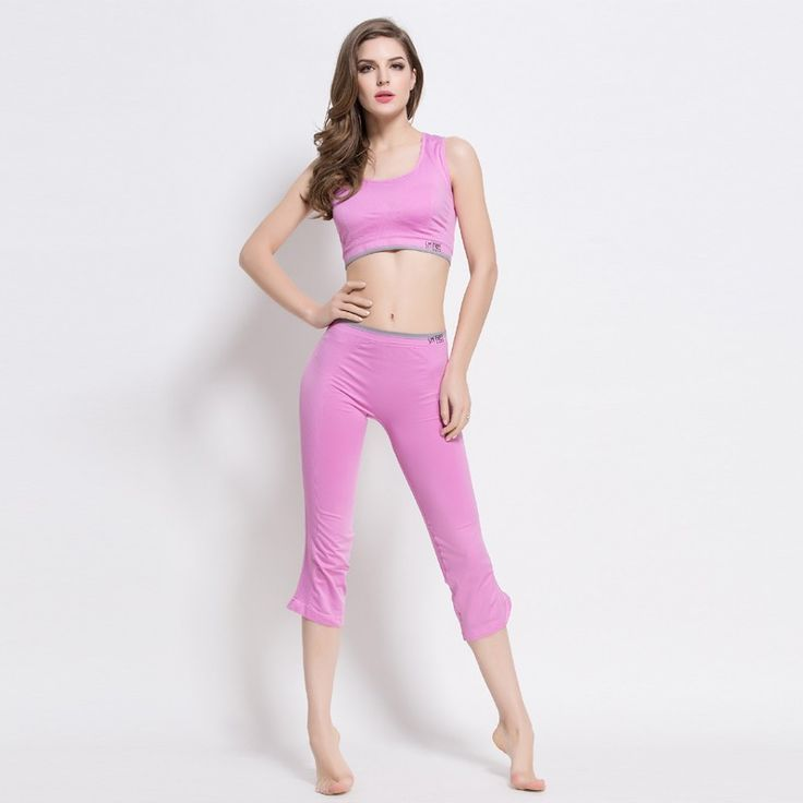 Sexy Sport Bra Tanks Top Push up Bra Yoga Fitness Clothing For Women Running Pants Tights Female Sport Trousers Lady's Leggings