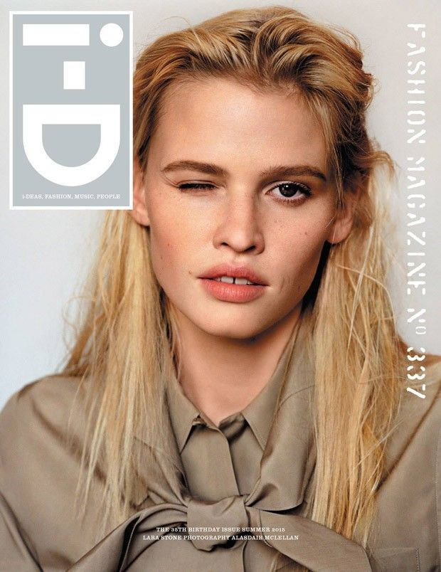 Lara Stone for i-D Summer 2015 by fashion photographer Alasdair McLellan