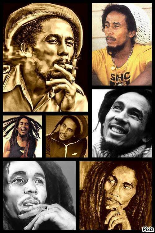 *Bob Marley* More fantastic collages, pictures and videos of *Bob Marley* on: https://de.pinterest.com/ReggaeHeart/