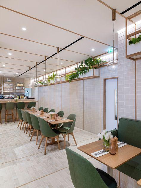 103 Best Cafe Images On Pinterest   Bakery Shops, Restaurant Design And  Commercial Interiors