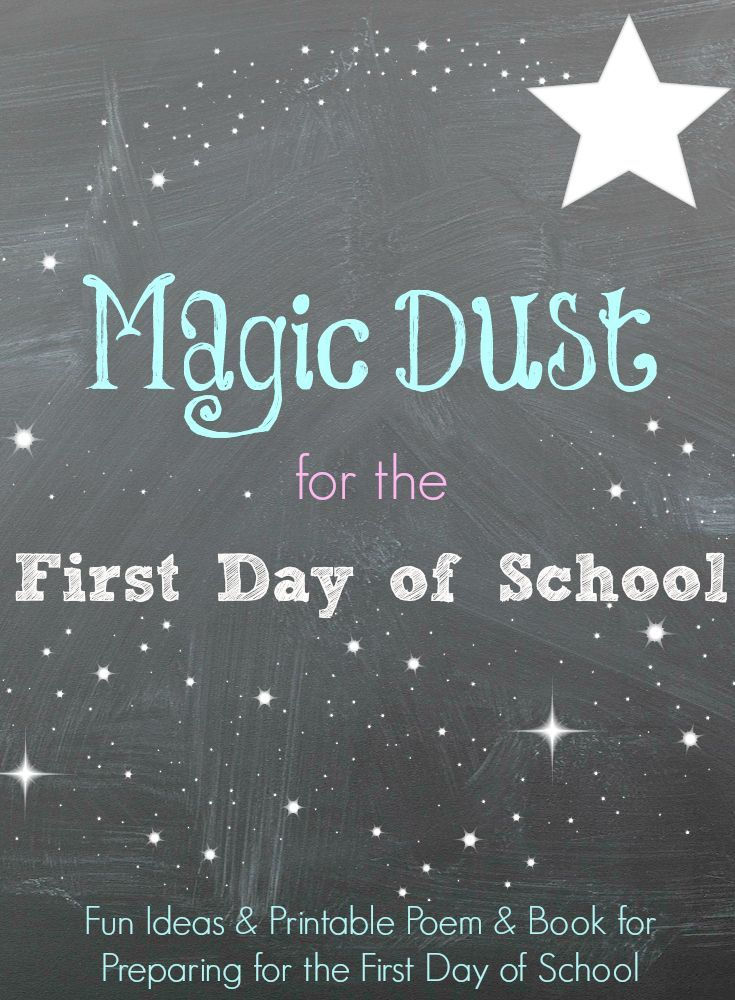 First Day of School Poem and Back to school Resources for parents and teachers