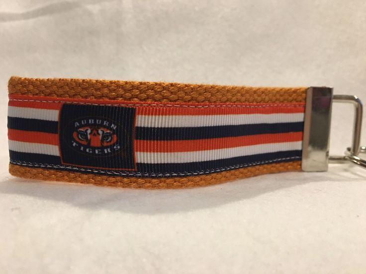Auburn Tigers Keychain, Auburn Tigers Ribbon, Auburn Tigers Gifts