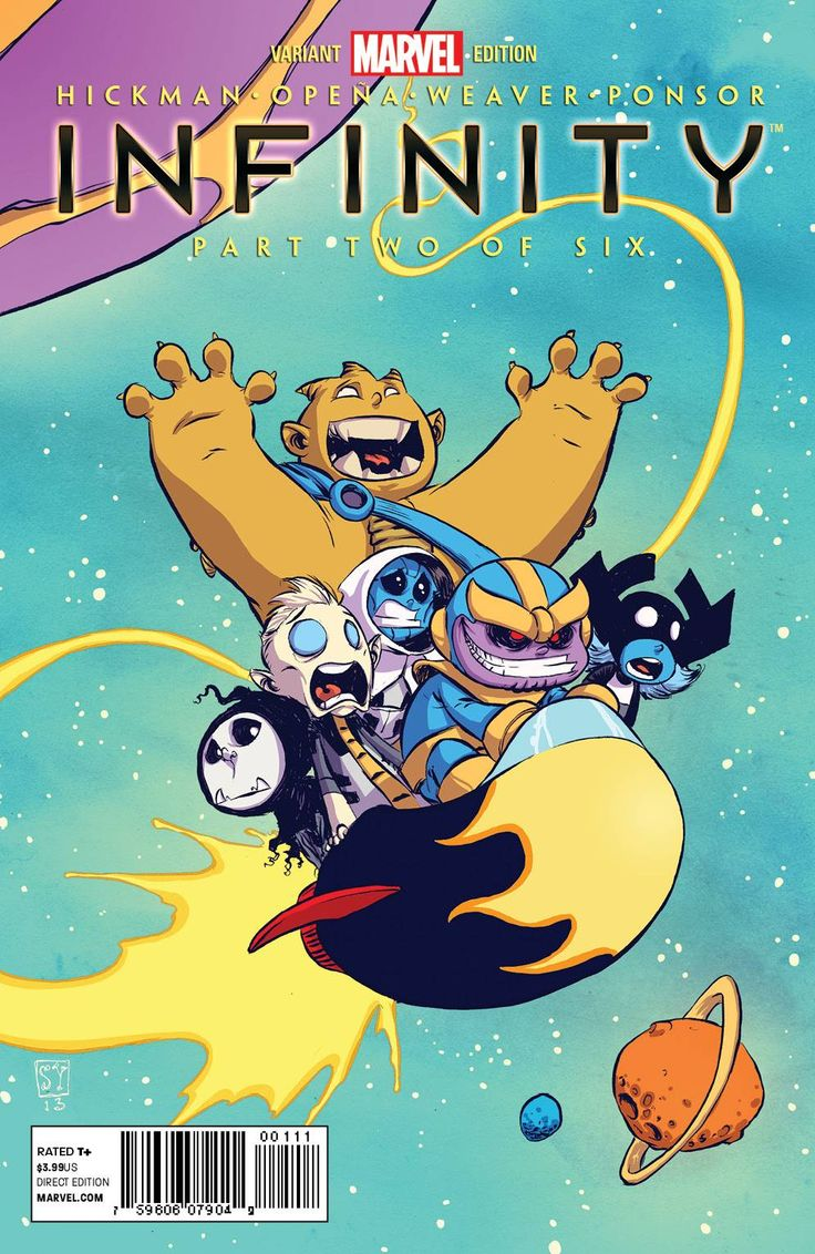 Infinity #2 - Skottie Young (Variant) Cover
