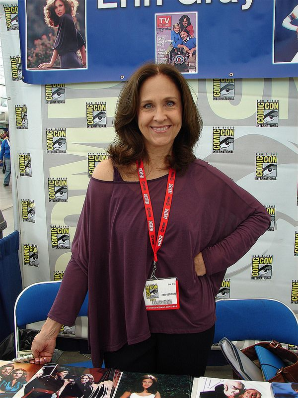 "Actress Erin Gray (Wilma from ""Buck Rogers in the 25th Century"")"