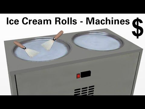 ► Klick Here to get fried Ice Cream Rolls Machine $ Informations / Ice P...