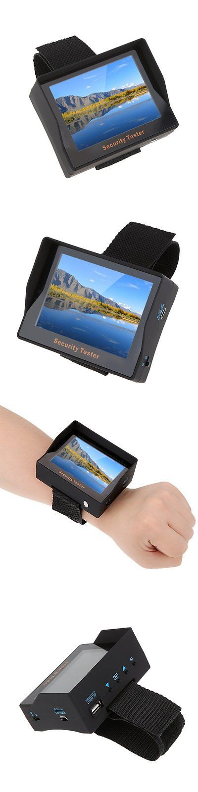 Surveillance Monitors Displays: Kkmoon 3.5 Tft Color Led Portable Test Monitor Cctv Camera Security Tester For -> BUY IT NOW ONLY: $44.74 on eBay!