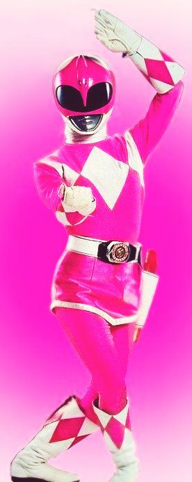 Pink Power Ranger. I wouldn't play if I had to be yellow. .x.