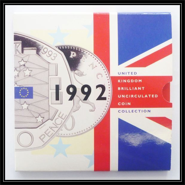 1992 UK uncirculated coin set (with Rare 50p)