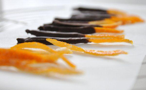 Kandírozott narancshéj recept - Masni