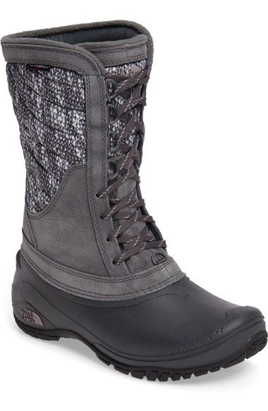 The North Face ThermoBall™ Utility Waterproof Boot (Women) available at #Nordstrom