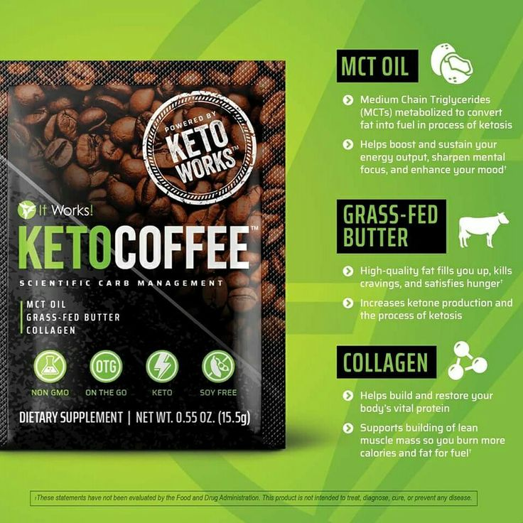 New It Works Keto Coffee Breaks Down Fat Enhances Mood