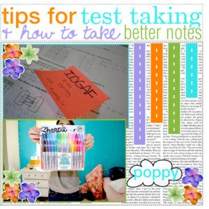tips for test taking & how to take better notes!