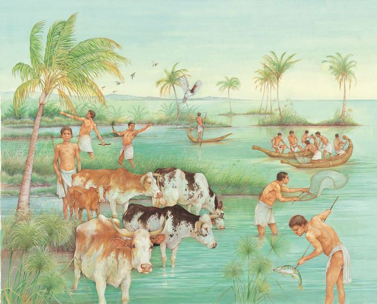 Fishing and hunting on the Nile - Q-files Encyclopedia