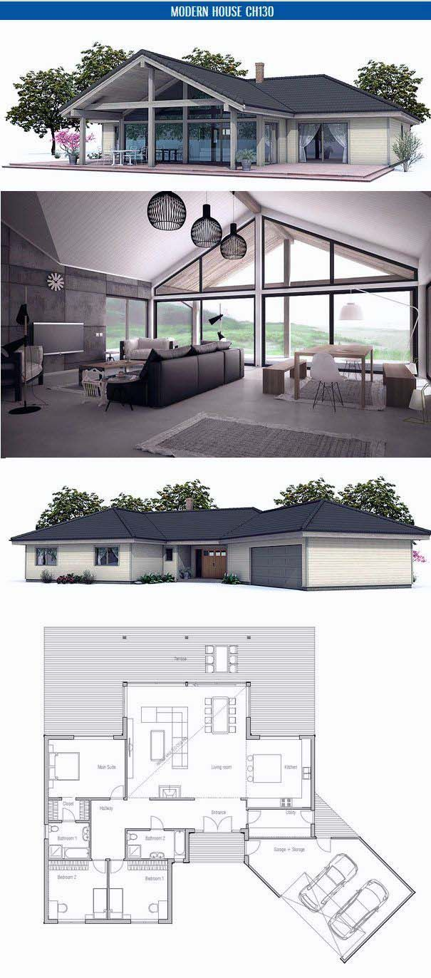 best Small house floor plans with open planning cost