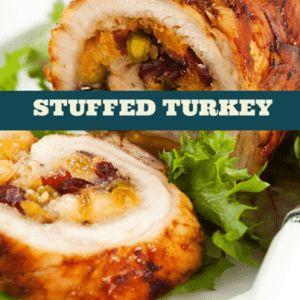 The Chew: Chef Mario Batali's Stuffed Turkey with Mushrooms Recipe