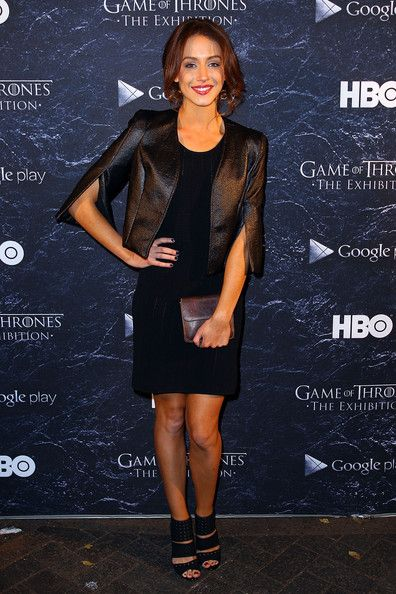 Isabella Giovinazzo arrives at the launch of the Game Of Thrones Exhibition at the Museum of Contemporary Art on June 30, 2014 in Sydney, Australia.