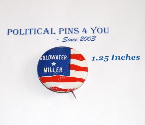 BARRY-GOLDWATER-campaign-pin-pinback-button-political-presidential-election-1964