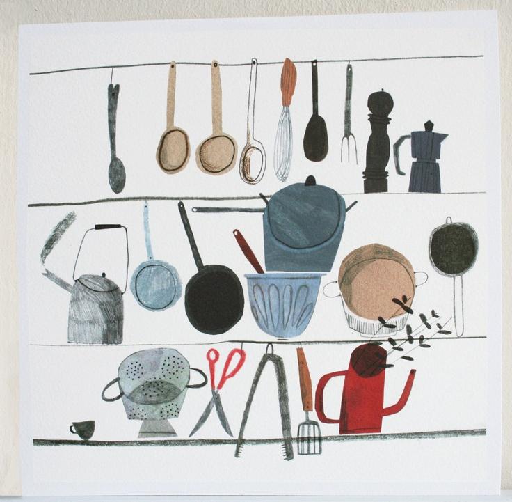Cooking Utensils - Emma Lewis