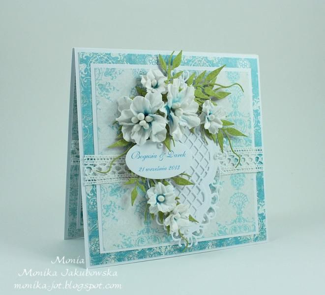Wedding flowers by Monia - Cards and Paper Crafts at Splitcoaststampers