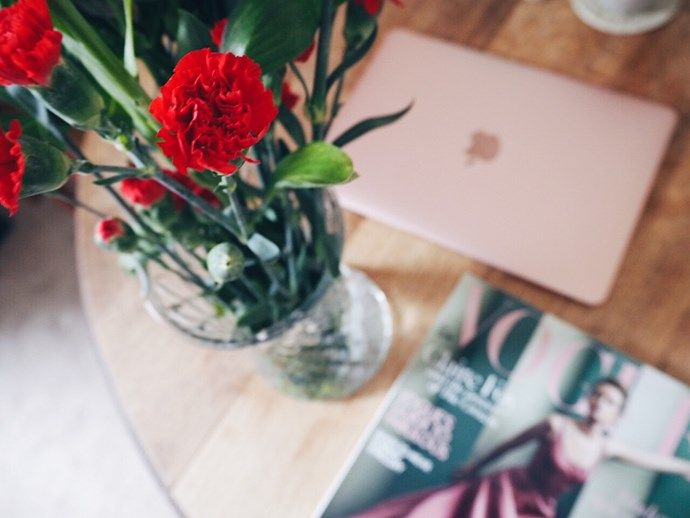 Flowers and Vogue
