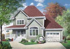 Plan de maison no. W3820 de dessinsdrummond.com