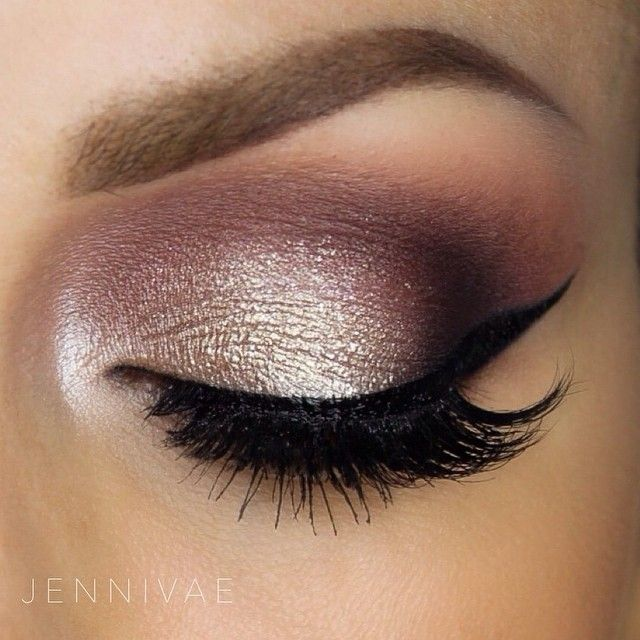 Beautiful smokey eye