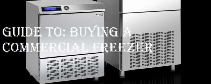 There are many types of commercial catering freezers available, designed and manufactured with commercial use in mind and include common features throughout, such as efficient insulation to keep food frozen in hot kitchen environments and easy to clean surfaces. This guide will help you choose which professional freezer is right for you!