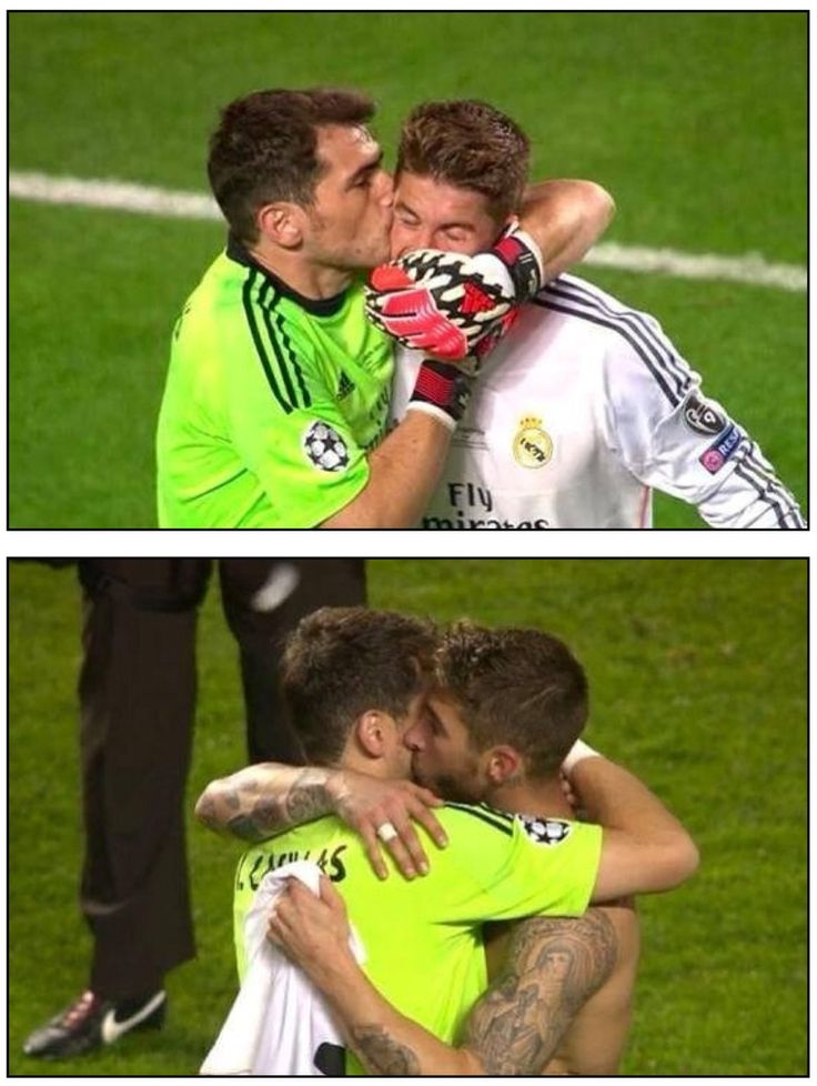 Iker Casillas and Sergio Ramos ( la decima ! Champions league )