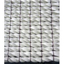 Tides White Area Rug