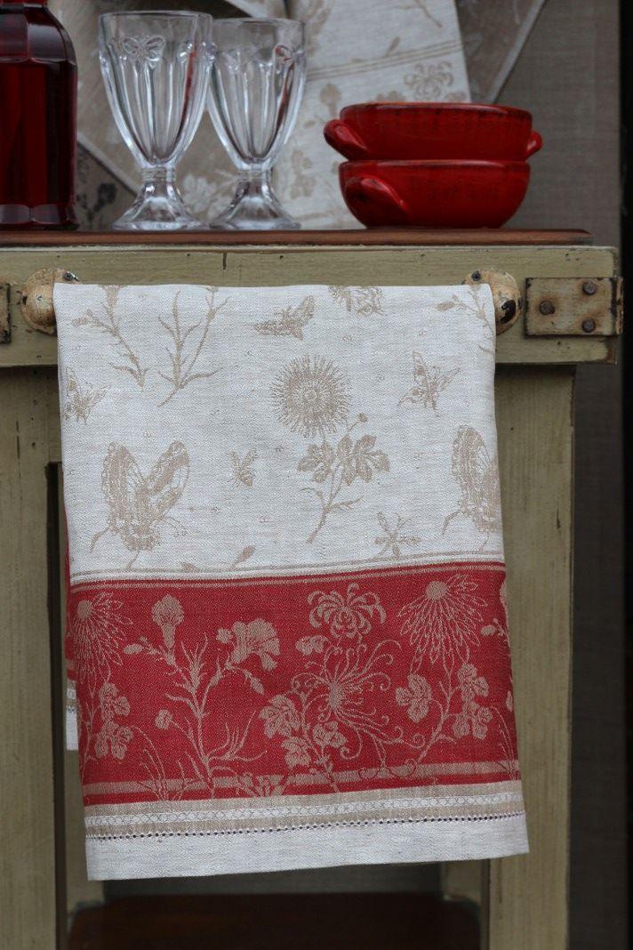 #LinenWay #Linen #Tea Towel #Kitchen towel #Jacquard Towel