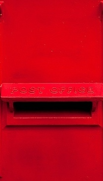 RED………DROP ME A NOTE IN THE RED MAIL SLOT…….YOU CAN'T MISS IT UNLESS YOUR COLOR BLIND…………(WHAT COLOR DID YOU SAY THAT SLOT WAS(??)………..ccp
