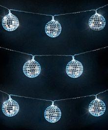 Mirror Ball String Lights