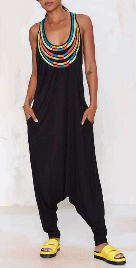 Ibiza Embroidered Jumpsuit