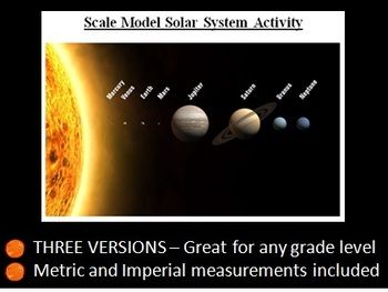 scale model solar system activity - photo #14