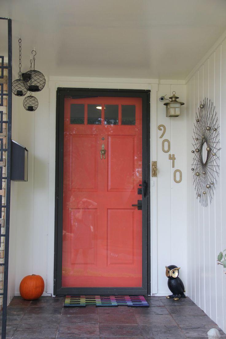 Coral Front Door Top 25 Best Coral Door Ideas On Pinterest Navy Front Doors