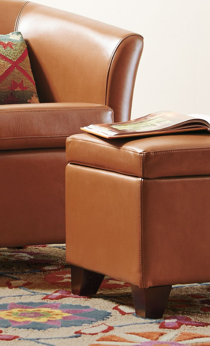203051abbbd3b6e7e3f7a66503dad782  cordoba storage spaces - Better Homes And Gardens 30 Hinged Storage Ottoman Brown