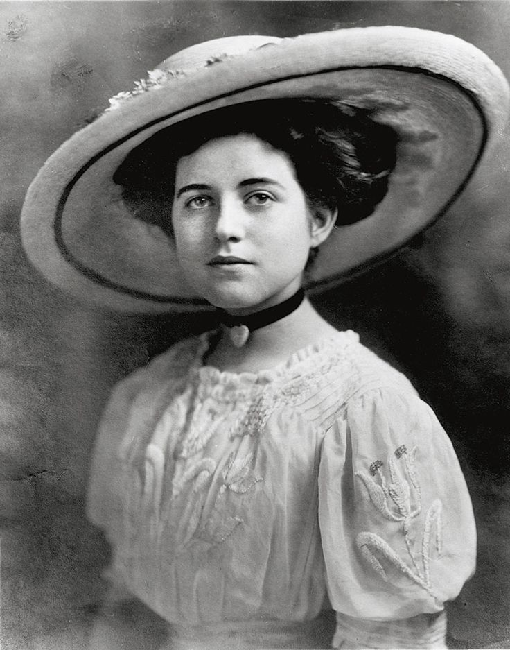 Rose Elizabeth Fitzgerald, the year of her official debut to Boston society, 1911.