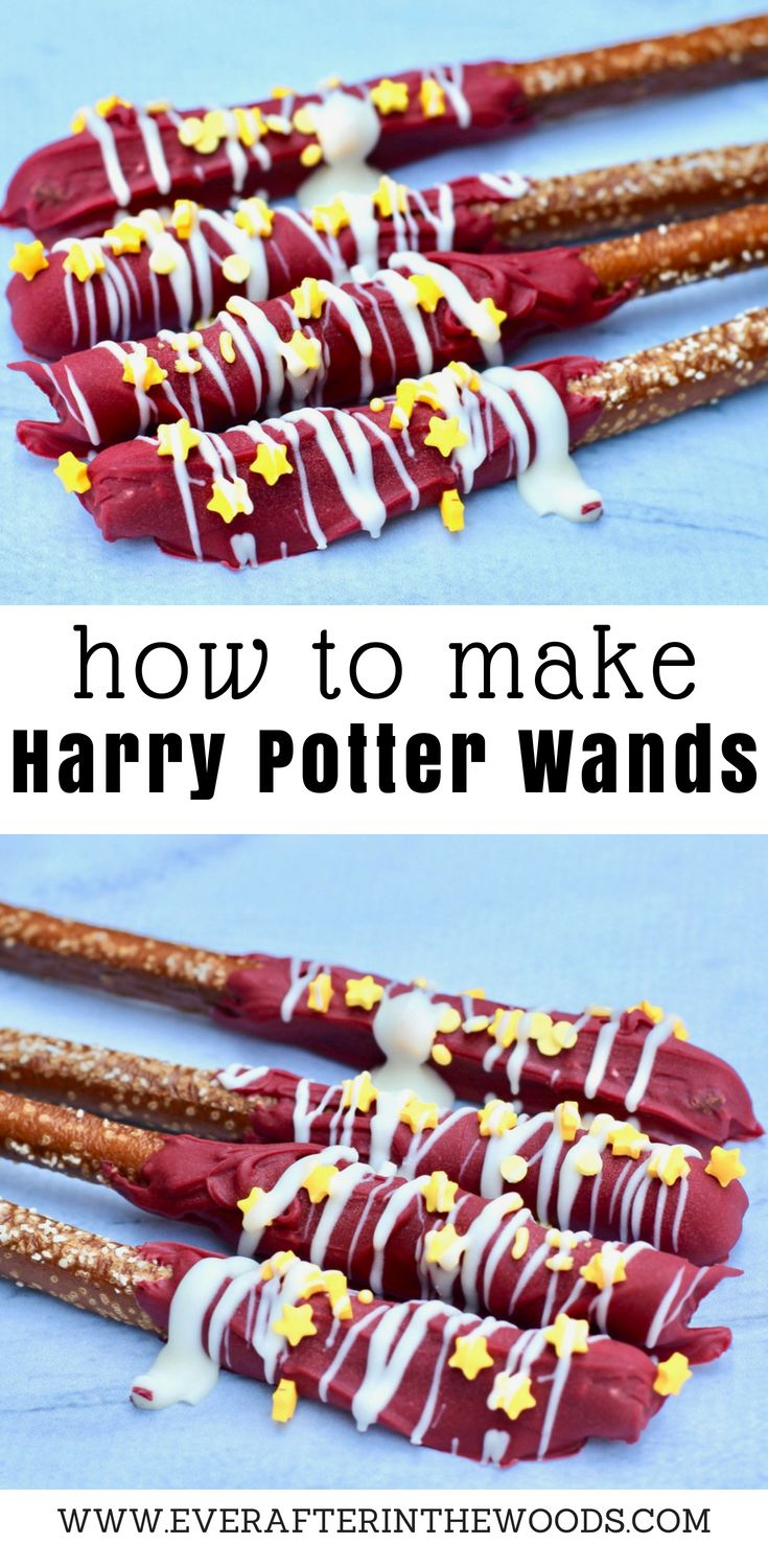 How to Make Harry Potter Gryffindor Wands