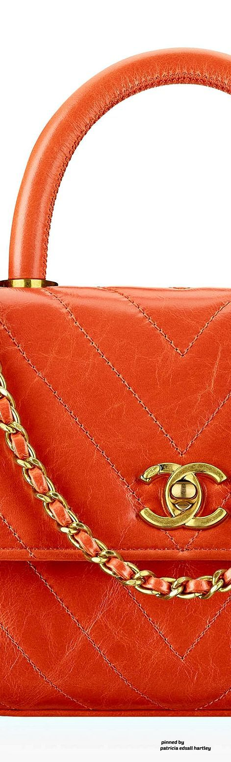 Flame orange Chanel #luxurydotcom - Sale! Up to 75% OFF! Shot at Stylizio for women's and men's designer handbags, luxury sunglasses, watches, jewelry, purses, wallets, clothes, underwear