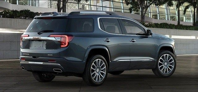 2020 Gmc Acadia Gets An Early Facelift 2020 Suvs And Trucks