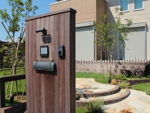 門柱 木製 ウリン材