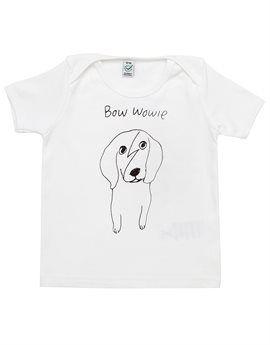 BLACK SCORE White 'Bowie Wowie' T-Shirt. Shop here: http://www.tilltwelve.com/en/eur/product/1076181/BLACK-SCORE-White-Bowie-Wowie-T-Shirt/