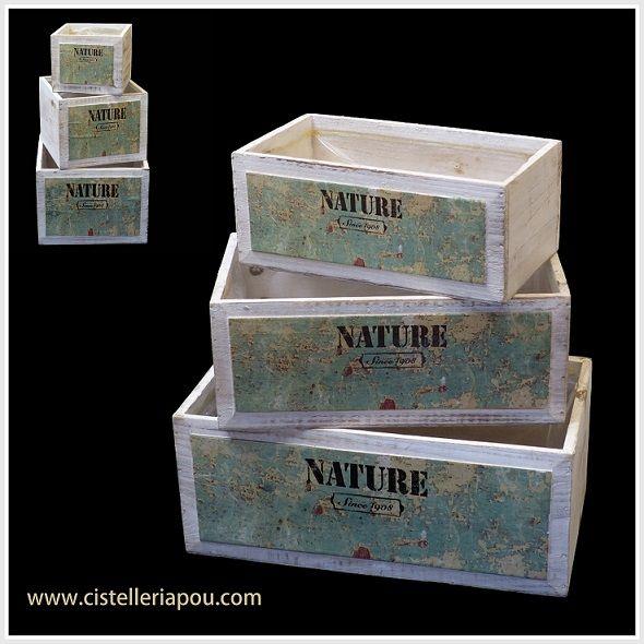 Mejores 27 im genes de elegantes cajas de madera cajas for Cajas de madera blancas