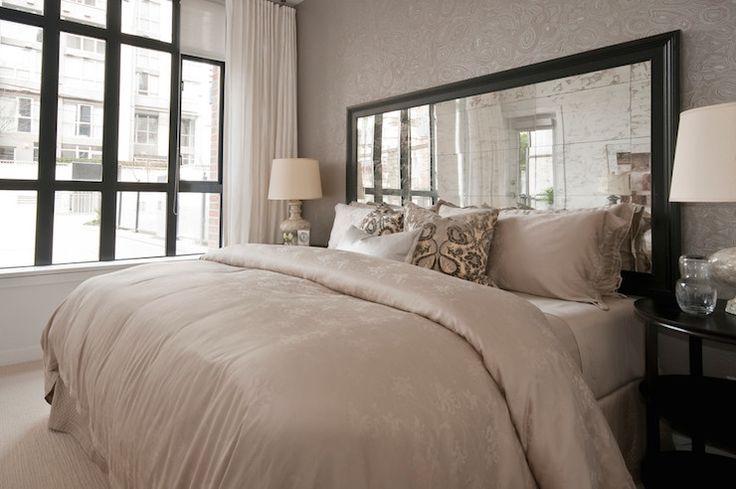 Tête de lit en Miroir Clair