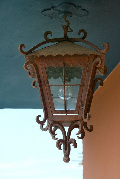 87 best mexican decor images on pinterest mexican art for Hacienda style lighting